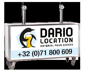 Dario Location - DIMENSIONS : 1M70 X 0M59 X 0M99
