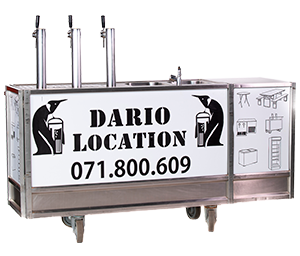 Dario Location - DIMENSION : 2M50 X 0M59 X 1M05